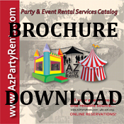 Party Rental Brochure!