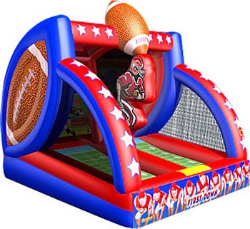first down football inflatable